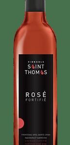 Vin fortifié rosé